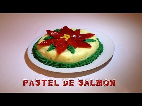sorprende a todos en la cena de navidad con este maravilloso y fcil pastel de salmn
