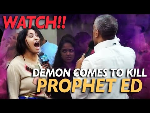 Watch!! Demon Comes To Kill Prophet Ed Citronnelli