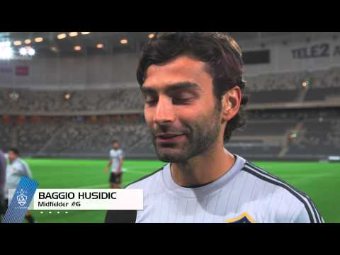 Video: Husidic, Gordon, Ishizaki and Dunivant, excited about their arrival in Stockholm, Sweden