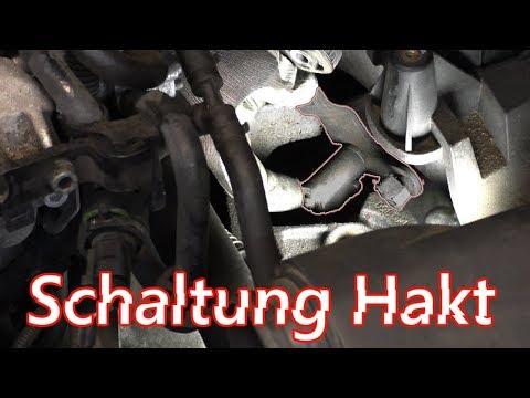 Gänge lassen sich schwer einlegen VW Audi Schaltung hakt