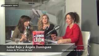 Isabel Bajo y Ángela Domínguez, autoras de 'El crimen de León'