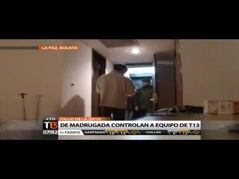 control migratorio en Bolivia