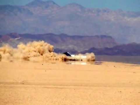 Boeing 727 специально разбили в пустыне США - Центр транспортных стратегий