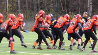 Semi-Final - Pee Wee Warriors 23 vs Orleans Bengals 20