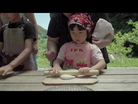 尾川中央保育園トマト刈り&ピザ焼体験170604