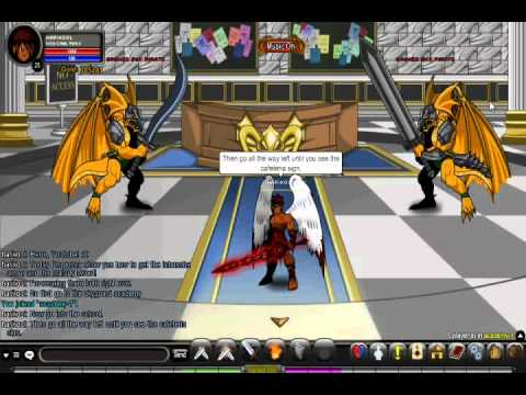 =AQW= How to get the Inbunche armor and Malady sword