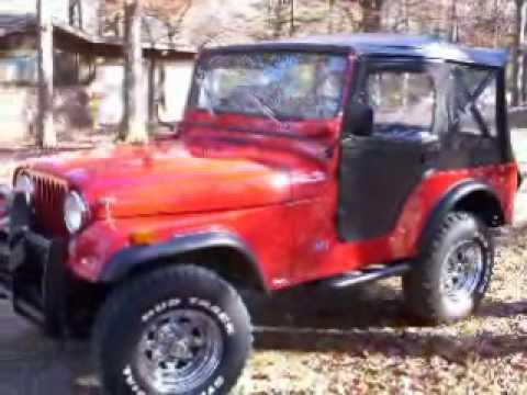 1975 Jeep CJ5 rebuild,rust repair,body work and paint