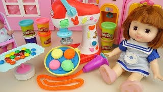 Download Video Play doh and baby doll snack food maker toys baby Doli kitchen play MP3 3GP MP4