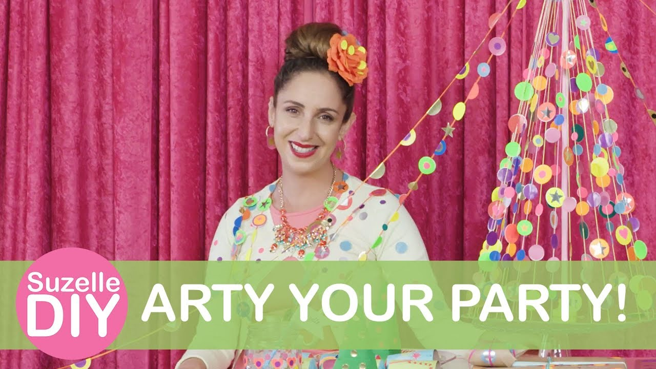 How to Arty your Party!-graphic