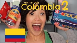 Emmy Eats Colombia 2 - Tasting More Colombian Treats