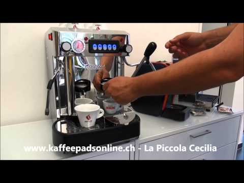 La Piccola Cecilia / Speedy - Kaffeemaschine - Espressomaschine - Kaffeepadsonline.ch