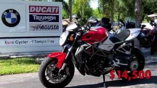 10. 2011 MV Agusta Brutale 1090RR at Euro Cycles of Tampa Bay