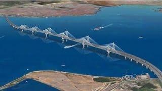 تركيا تضع حجر الأساس لجسر