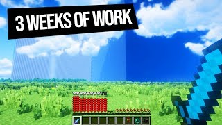 What three weeks of REAL work looks like on Minecraft Factions...