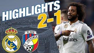 Download Video Real Madrid vs Viktoria Plzen   2 - 1   ALL GOALS & HIGHLIGHTS MP3 3GP MP4