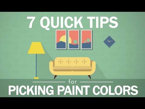 7 Tips to Picking Paint Colors