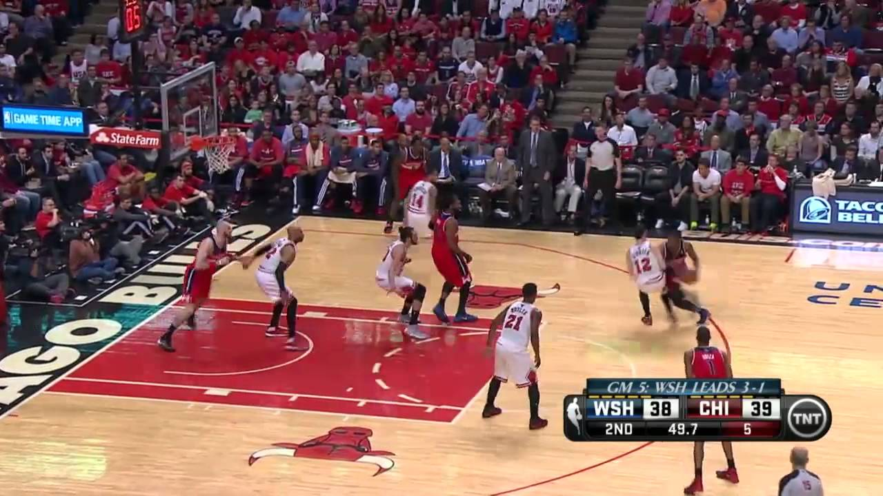 Washington Wizards vs Chicago Bulls Game 5   April 29, 2014   NBA Playoffs 2014