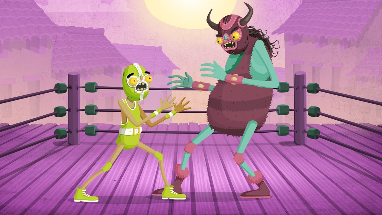 The Upcoming 'Louie Lucha' Is a Colorful Mix of Fighting and Rhythm