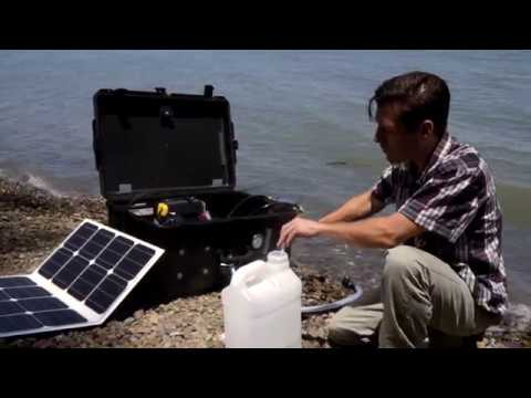 Making Drinkable Water from Any Source with the Aquifer