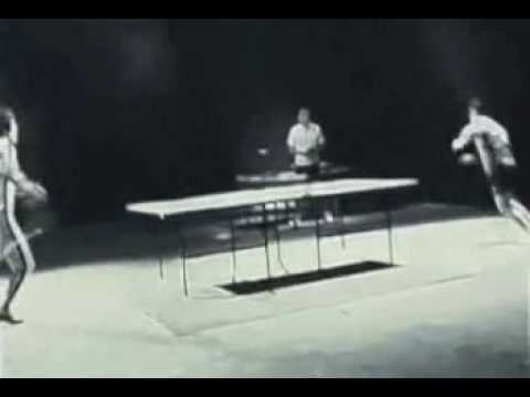 誰試過雙節棍打桌球,只能說太強了!