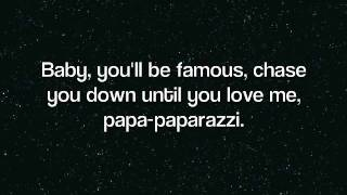 Lady Gaga - Paparazzi (Lyrics) Video