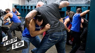 Video Wildest locker room brawls: WWE Top 10, March 19, 2018 MP3, 3GP, MP4, WEBM, AVI, FLV Juli 2018
