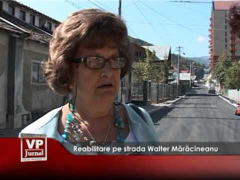 Reabilitare pe strada Walter Mărăcineanu