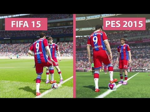 FIFA 15 vs. Pro Evolution Soccer 2015 Comparison