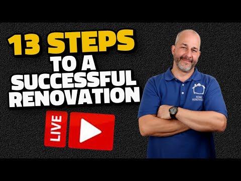 13 Steps To  Renovating DIY