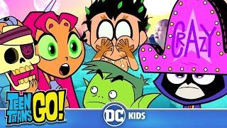 Video Teen Titans Go! | Crazy Day At The Titans Tower | DC Kids MP3, 3GP, MP4, WEBM, AVI, FLV Desember 2018