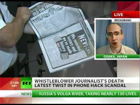 Whistleblower's Death: James Corbett on Murdoch scandal turning bloody
