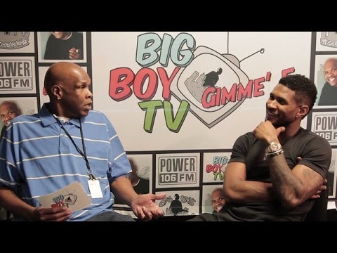 """Usher Speaks on Ratchet Groupies, Smashing to His Own Music, Good """"Kissers"""" and More!   BigBoyTV"""