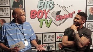 """Usher Speaks on Ratchet Groupies, Smashing to His Own Music, Good """"Kissers"""" and More! 