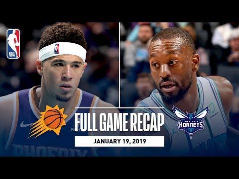 Video: Full Game Recap: Suns vs Hornets | Kemba Leads CHA