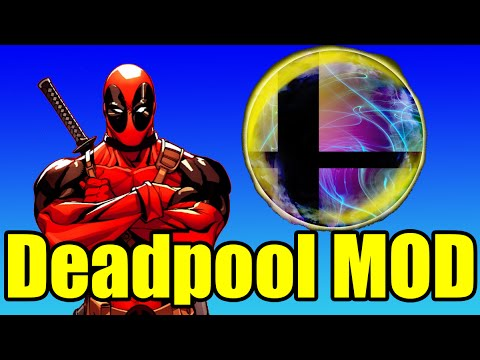 Deadpool in Super Smash Bros is SILLY and FUN! (Mod) Smash Bros Brawl/Project M