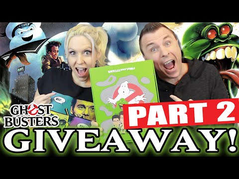 GIVEAWAY: New GHOSTBUSTERS Titans Vinyl Figures (Full Case of 20 Figures!) Part 2