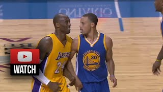 Stephen Curry Full Highlights vs Lakers (2014.10.12) - 25 Pts, Owns Kobe & His Team!