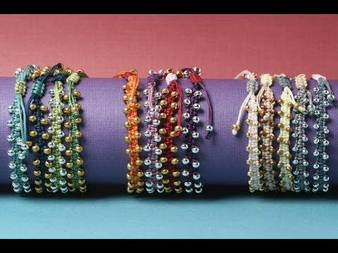 bollywood macramé bracelet