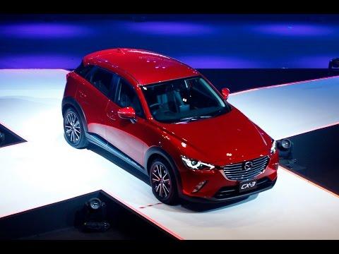 All New Mazda CX-3 Thailand Premier : เปิดตัว มาสด้า ซีเอ็กซ์-3 ใหม่