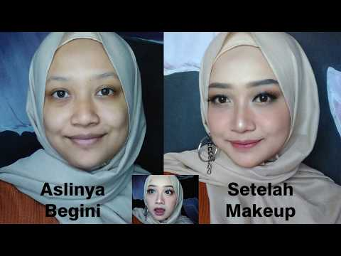 MAKEUP KONDANGAN BIKIN PANGLING | TERINSPIRASI WEBTOON SECRET OF ANGEL VERSI HIJAB :V