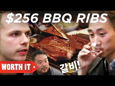 2 • E10___  _    $13 BBQ Ribs Vs. $256 BBQ Ribs • Korea