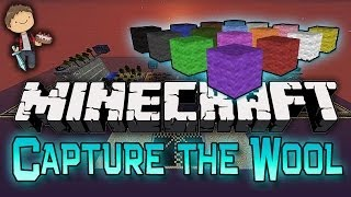 Minecraft: Capture The Wool Mini-Game w/Mitch, Jerome, Mat and Zak!