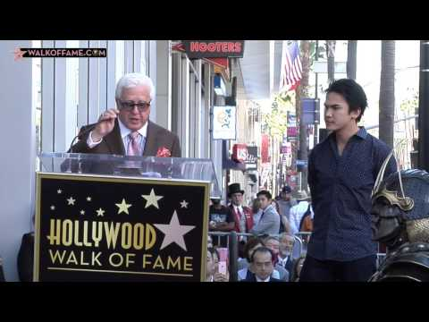 Toshiro Mifune Walk of Fame Ceremony