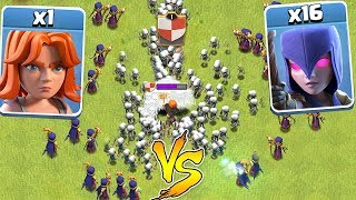 Video 1 TROOP Vs. ALL WITCHES!!! | clash of clans | WHO WILL WIN!!! MP3, 3GP, MP4, WEBM, AVI, FLV November 2017