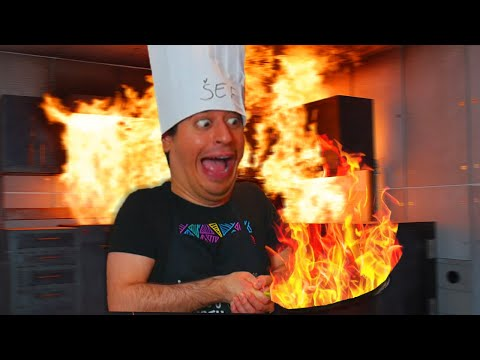 PALAČINKE IZ PAKLA!!! *skoro se otrovao* (kofs kuhinja)