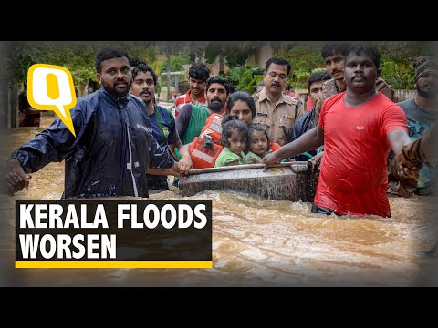 79 Dead In Kerala Floods; Cauvery Flows Above Danger Mark | The Quint