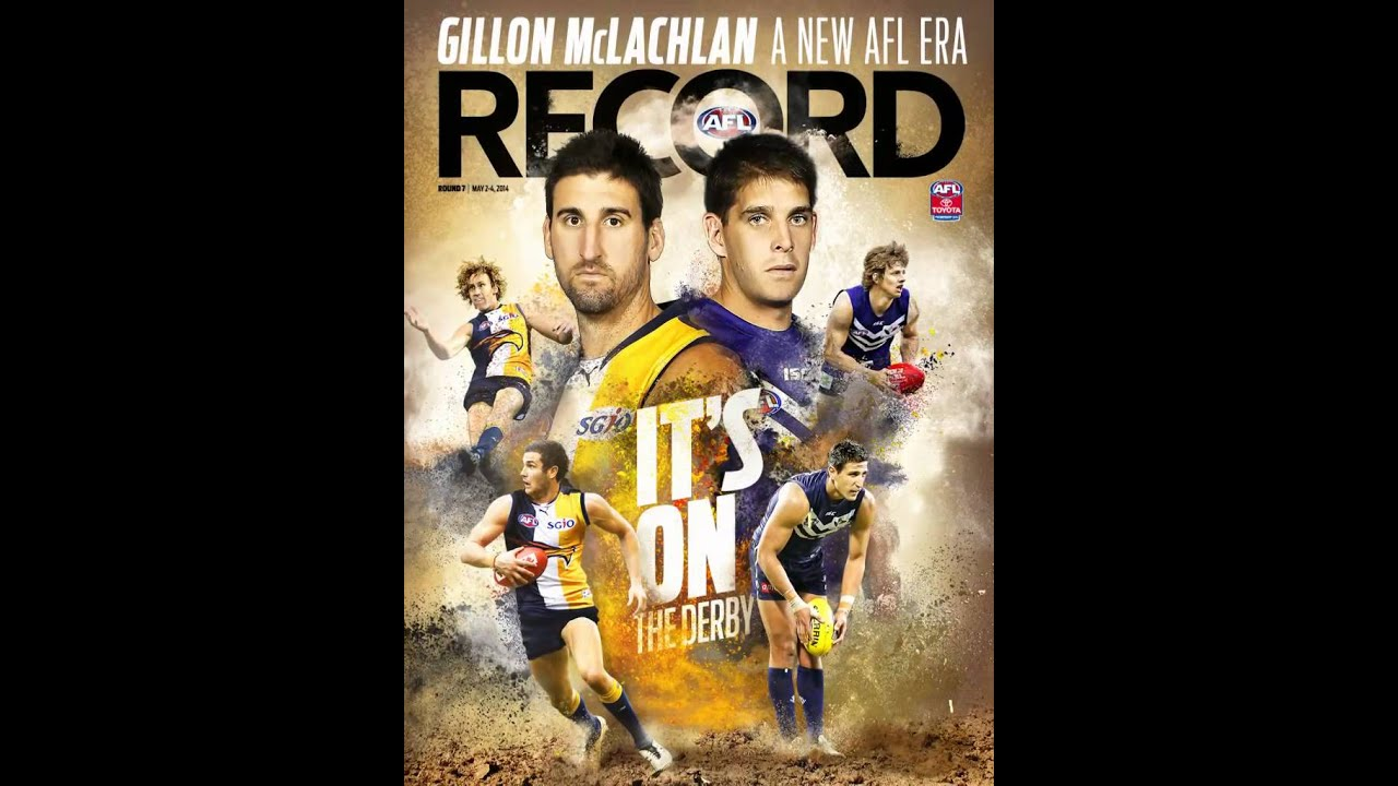 AFL Record cover animation – Round 7 2014