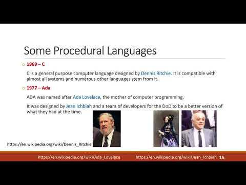 114 2017 ProgrammingLanguages 14 15