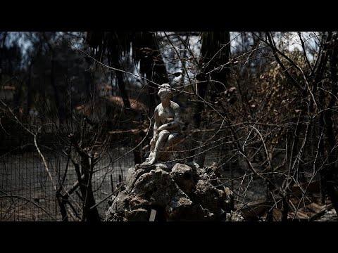 Πυρκαγιά Αν. Αττικής: Στους 95 οι νεκροί