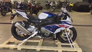 8. 2018 Bmw S1000rr delivery & unboxing first one in Michigan